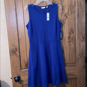 New York & Company Blue Dress